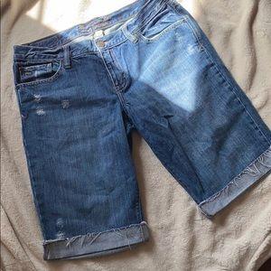 Abercrombie and Fitch Denim Bermuda shorts